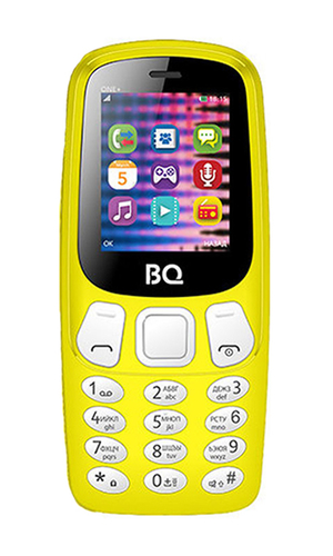 BQ One+ 1845 Yellow
