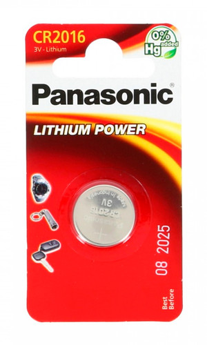 Элемент питания Panasonic Lithium Power CR2016