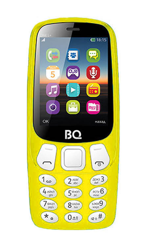 BQ One L+ 2442 Yellow
