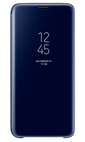 Чехол-книжка для Galaxy S9 Clear View Standing Cover EF-ZG960CLEGRU синий