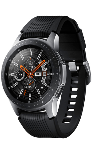 Samsung Galaxy Watch 46 мм SM-R800NZSASER серебристая сталь фото №1