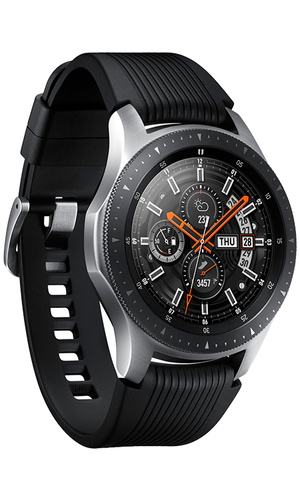 Samsung Galaxy Watch 46 мм SM-R800NZSASER серебристая сталь фото №3