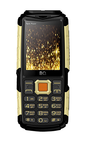 BQ Tank Power BQ-2430 Black+Gold