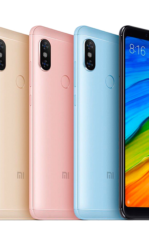 Xiaomi RedMi Note 5 64Gb 4Gb Rose Gold фото №4