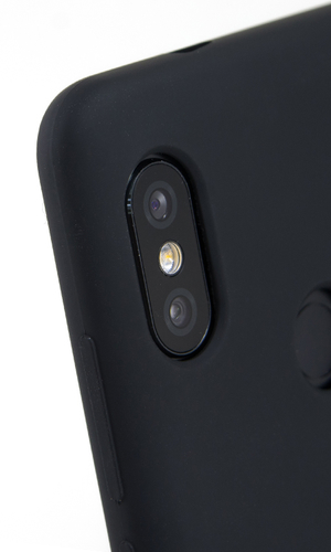 Чехол для RedMi Note 5 накладка Silicone Cover черная