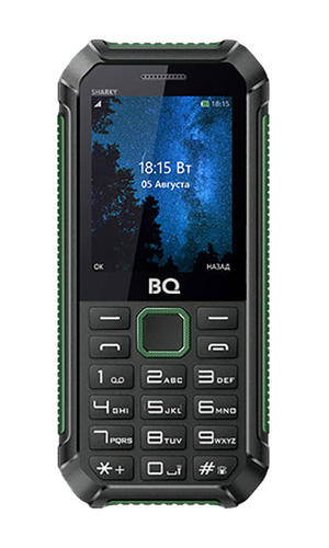 BQ Sharky BQ-2434 Black + Dark Green