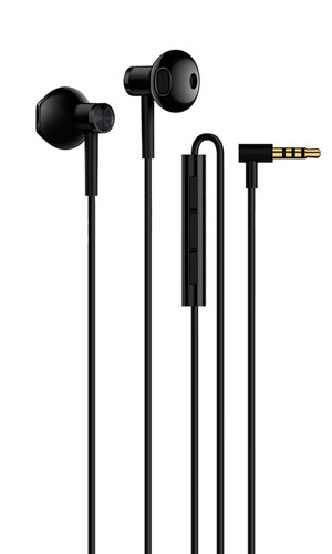 Наушники Xiaomi Mi Dual-Semi-in-ear BRE01JY black