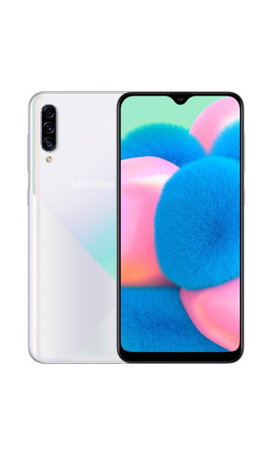 Samsung Galaxy A30s 4/64Гб Prism Crush White A307FN (EAC) фото №1