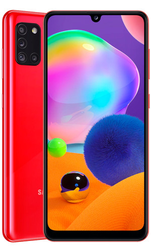 Samsung Galaxy A31 4/64Gb Red A315FZ (EAC)