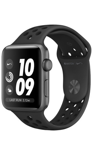Часы Apple Watch Series 3 38мм Aluminum Case with Nike Sport Band