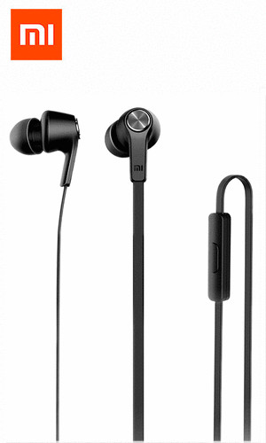 Наушники Xiaomi Mi in-Ear Headphones Basic черная