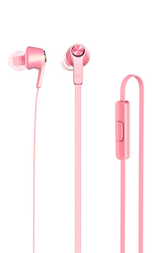 Наушники Xiaomi Mi in-Ear Headphones Basic розовые