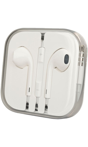 Наушники для Apple iPhone 6S EarPods Hoco M1 белая